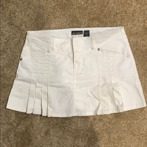 White Denium DKNY skirt